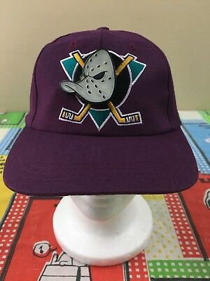 Nwt Deadstock Vintage 90S Mighty Ducks Youth Cap Hat Retro Orginal Produck