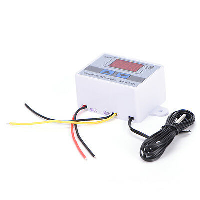 220V 10A Digital LED Temperature ControllerXH-W3001 For CoolingHeating Switch SK