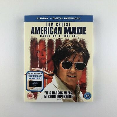 American Made (Blu-ray, 2017) s *New & Sealed*