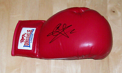 Carl Froch Hand Signed Black Lonsdale Boxing Glove New A