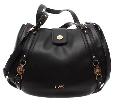 LIU JO Milano Borsa Donna Mano Tracolla Grape Juice Met M Shoulder Bag Cere New
