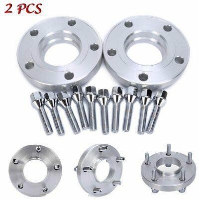2PCS 20mm Spacers Hub Centric Wheel Spacer Kit Fit for BMW E60 E61 E90 E91 New
