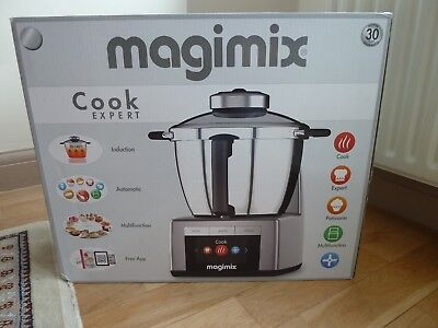 MAGIMIX COOK EXPERT CHROME FOOD PROCESSOR MULTIFUNCTION  Boxed COOKER