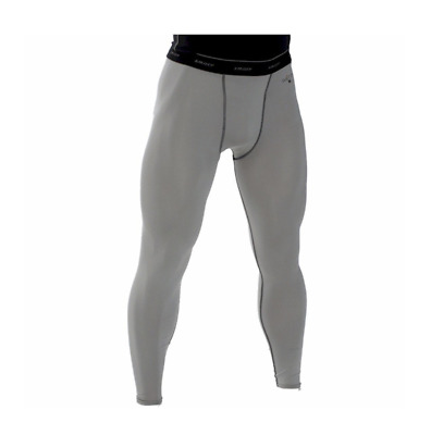 SMITTY | BBS-416 | Grey | Compression Ankle Tights w/ Cup Pocket | Spandex