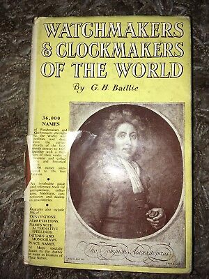 Watchmakers and Clockmakers of the World, G. H. Baillie, NAG Pres 1966 (id3)