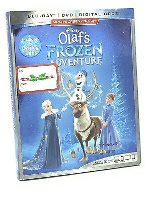 Olaf's Frozen Adventure (Blu-ray+DVD+Digital Code, 2019) NEW w/ Slipcover