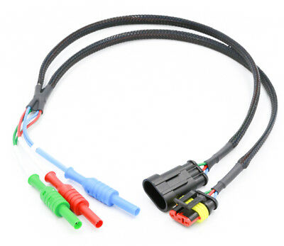 3 Pin AMP Superseal Automotive Breakout Lead (Scope diagnostics)