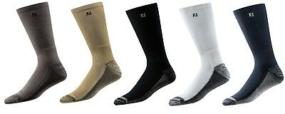 NEW Mens Footjoy ProDry CREW Solid Golf Socks, PICK A COLOR, ONE PAIR