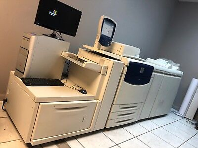 Xerox 700 Digtal Color Press with Finisher