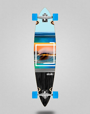 "Skate longboard cruiser complete ALOIKI Byron 40"" Pintail complete"