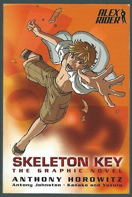Alex Rider: Skeleton Key The Graphic Novel Anthony Horowitz Walker Books 2009 G+