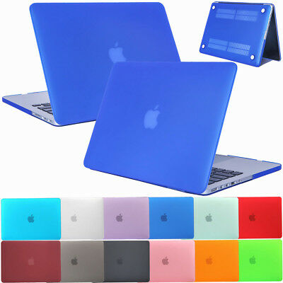 Matte Rubberized Hard Case Frosted Cover For Apple Macbook Pro Retina 12 13 15