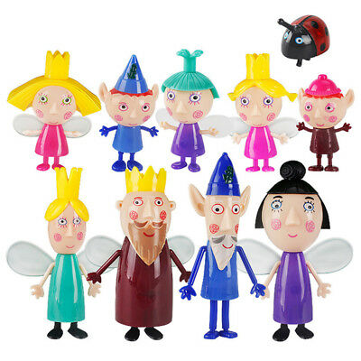 Ben & Holly's Little Kingdom Figures Toy Figurines Playset Kids Gift Collection