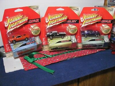 3 🔥johnny Lightning 🔥pro Collector Series🔥'70 Super Bee, Challenger, Gt500🔥