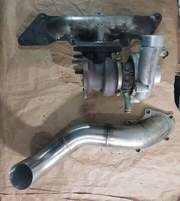 Westfield Zetec Duratec St170 MZR Kit Car Turbo Manifold Td04 Manifold Downpipe