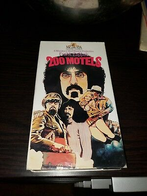 FRANK ZAPPA'S 200 Motels (VHS, 1971) Ringo Starr THE MOTHERS OF INVENTION