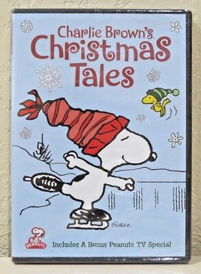 Charlie Brown's Christmas Tales (DVD) BRAND NEW>FREE SHIPPING!