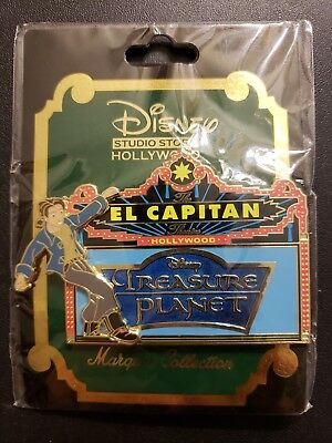 DSF GSF DSSH Disney Treasure Planet Marquee Pin LE 300