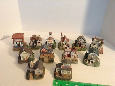 International Resourcing Services Inc Village (LOT of 12) Liberty Falls resin #2