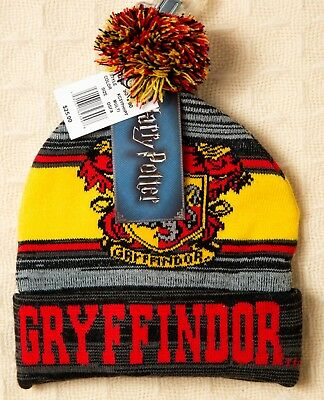 6ab586df2e2 HARRY POTTER Beanie GRYFFINDOR Winter Hat Cap Men s Women s Unisex Boy s  Girl s