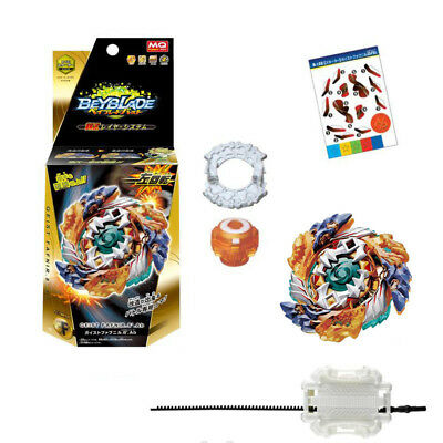 Beyblade Burst B-122 Starter Geist Fafnir.8`.Ab With Launcher Gifts for Kid