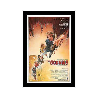 THE GOONIES - 11x17 Framed Movie Poster by Wallspace