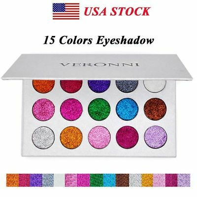 572306c62004 VERONNI 15 COLORS Professional Makeup Eye shadow Palette Shimmer Matte  Cosmetics