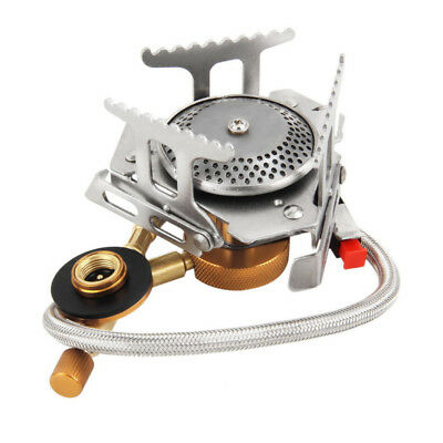 Outdoor Picnic-Gas Burner Portable Backpacking Camping Hiking Mini Stove 3500W