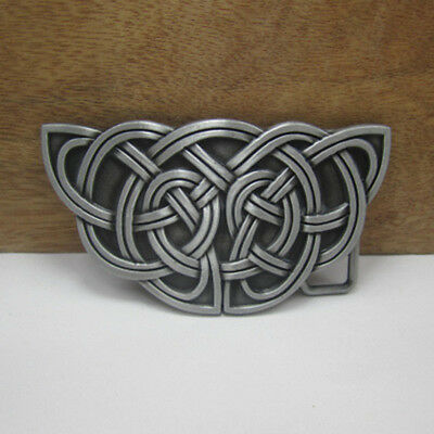 Gold Celtic belt buckle clothing jeans casual collocation