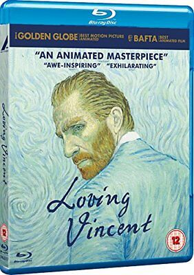 Loving Vincent (Blu-ray, 2017, Region Free) *BRAND NEW/SEALED*