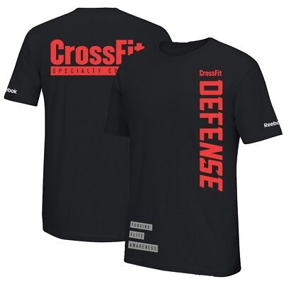 "Reebok Men's Specialty Course CrossFit Defense ""Forging Elite Awareness"" T-Shirt"