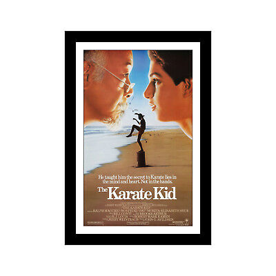 THE KARATE KID - 11x17 Framed Movie Poster by Wallspace