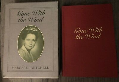 Gone With The Wind By Margaret Mitchell Book Slipcase 50th Anniv Ltd Ed 1986