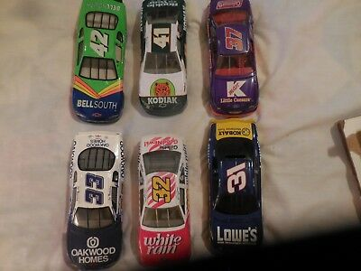 Lot of FIFTY (50) NASCAR  Die-cast Collector Cars 1:24
