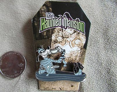 NEW! Disney Haunted Mansion Mystery Pin Mummy Goofy in Casket Drinking Coffee