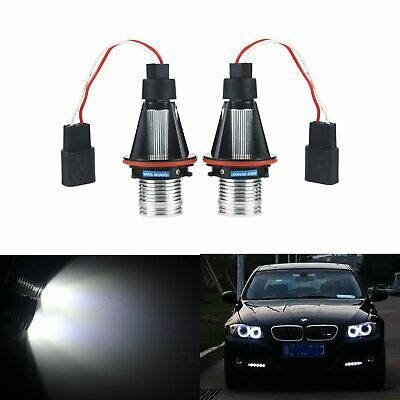 For BMW 8 Series E31 8SMD LED Error Free Canbus Side Light Beam Bulbs Pair