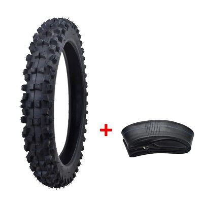 Motorcycle 60/100-14'' Knobby Tire Tyre + Tube for 110 125cc Pit Pro Dirt Bike