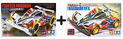 Tamiya Mini 4Wd - Fighter Magnum Collection - Offerta - Item 19410 + 95432