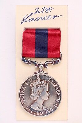 Qeii Dcm British Army Military Distinguished Conduct Medal Full Size In Box