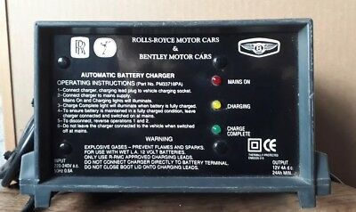 Rolls Royce and Bentley Motor Car Battery  Charger