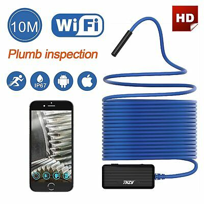 4X(THZY Wireless Endoscope WiFi Borescope Inspection Camera 2.0 Megapixels HD Q4