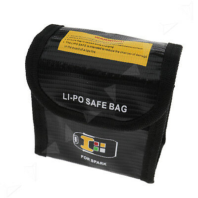 Large LiPo Battery Fireproof Pouch Flame Retardant Safety Bag For DJI Spark