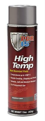 POR-15 Paint - High Temperature - Urethane - Gray - 15 oz Aerosol - Each