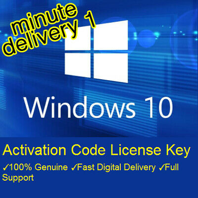 Win 10 Professional Pro Key 32/64 BIT Activation Code License Key Genuine Win 10