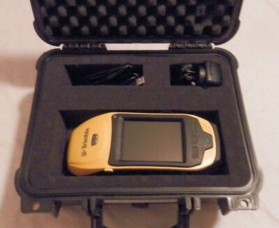 Trimble 6000 series GeoXH 3.5G handheld GPS GNSS GIS receiver in case