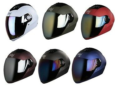 Steelbird Multi Color Choice Air SBA-2 Full Face Motorcycle Safety Helmet M/L GT