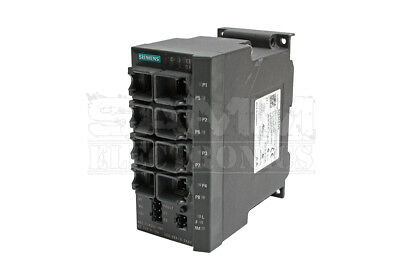 Siemens 6Gk5208-0Ba10-2Aa3 Scalance X208, Managed Ie Switch, 8 - Reconditioned