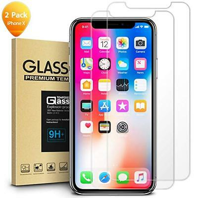 For Apple IPhone X / XS - 100% Genuine Tempered Glass Film Screen Protector