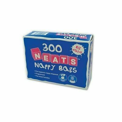 Neats Nappy Bags - Pack of 300 1 2 3 6 12 Packs