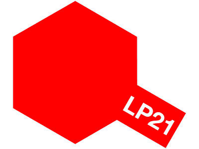 Tamiya Colore Lacquer Paint Lp-21 Italian Red - Item 82121